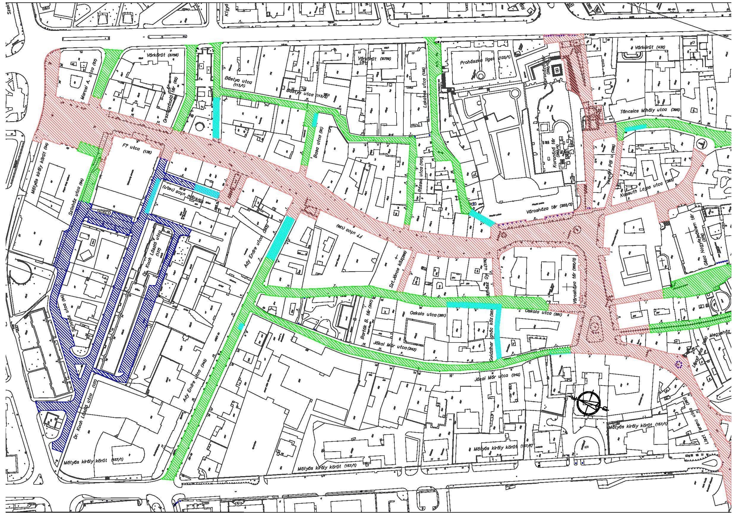 székesfehérvár belváros térkép Székesfehérvár Városportál   Igazi sétálóövezet a megújult  székesfehérvár belváros térkép